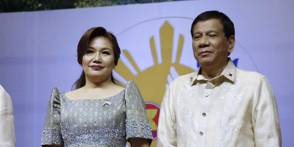 Pres. Duterte says his partner Honeylet Avanceña volunteered as a medical frontliner