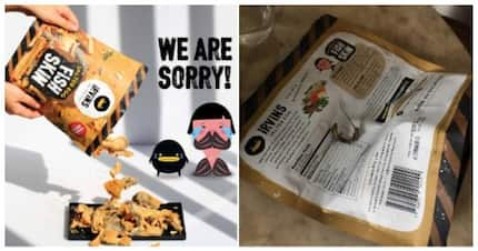 Irvins issues apology for dead lizard found inside their salted egg snack