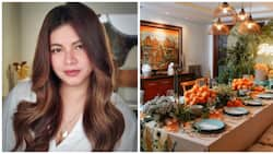 Angel Locsin throws after-quarantine thanksgiving dinner for her family