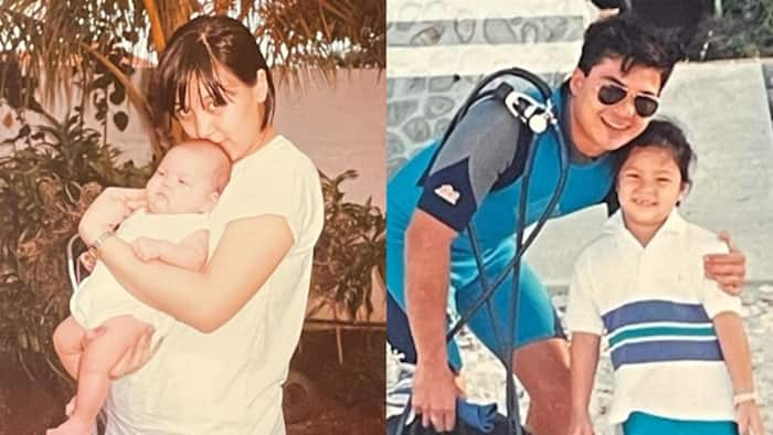 Sharon Cuneta posts throwback photos of KC Concepcion and Gabby Concepcion