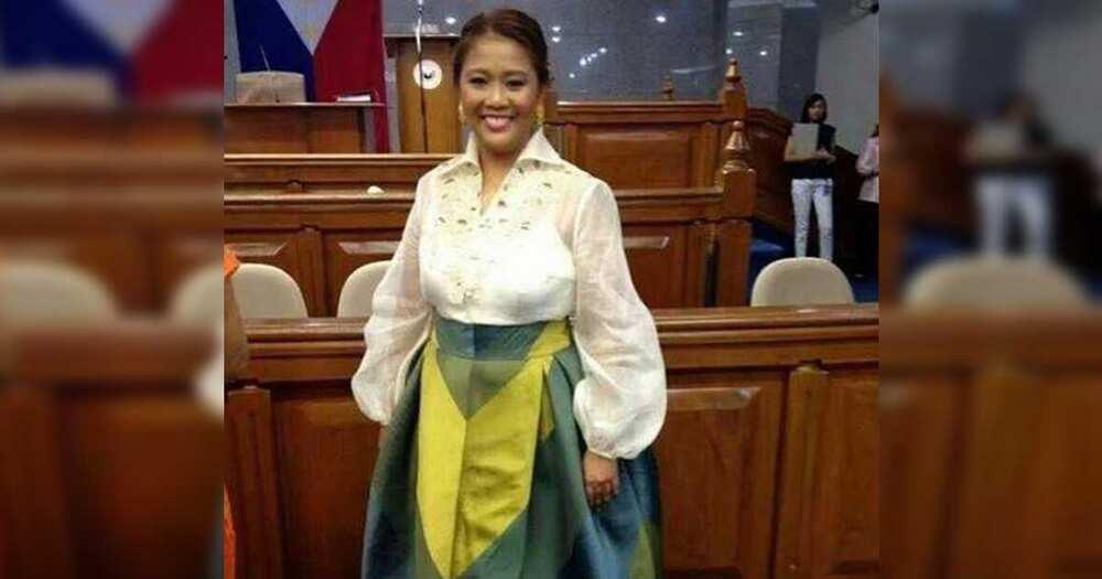 """Smashing """"glow-up"""" ni Sen. Nancy Binay sa SONA, hinangaan ng netizens"""