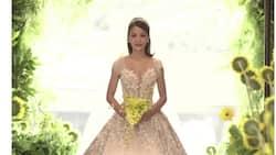 Kris Bernal's wedding gown designed by Mak Tumang stuns netizens