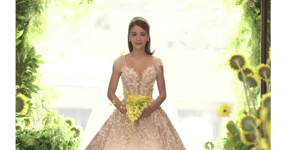 Kris Bernal shares video of her and Perry Choi's church wedding