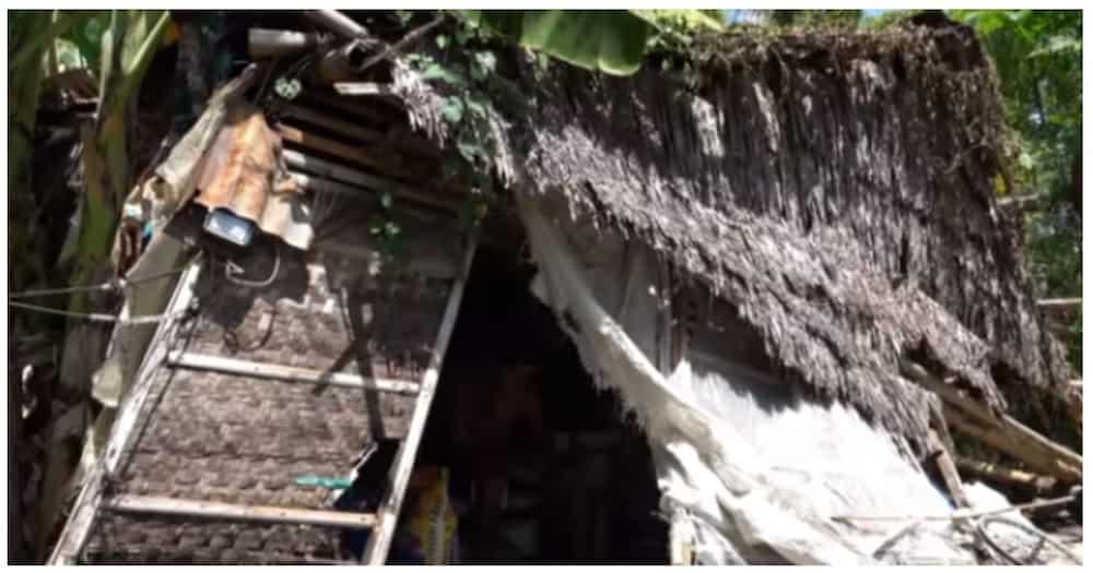 Pamilyang nakatira sa wasak na bahay, natulungan ng mga netizens dahil sa isang vlogger