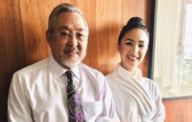 Foto de Heart Evangelista  & su Padre  Reynaldo Evangelista Ongpauco