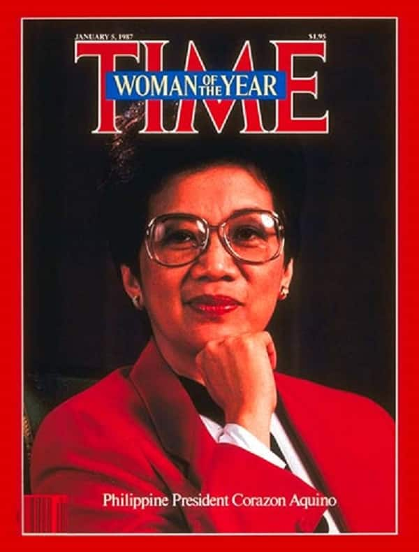History post: President Cory Aquino became 1st Filipino to become TIME'S Person of the Year