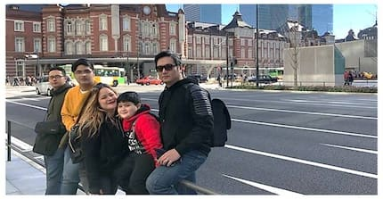 Yayamanin si Mani! Manilyn Reynes, Aljon Jimenez, at popoging mga anak, bonggang nagbakasyon sa Japan