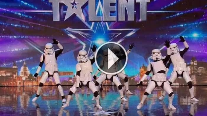 Amazing group from a galaxy far, far away leaves the judges speechless
