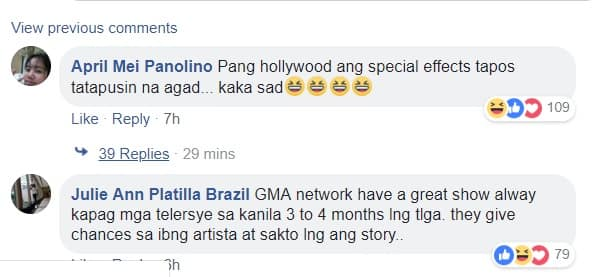 Screenshot of comments on Facebook post by PEP.ph