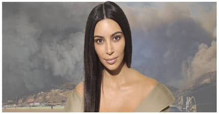Kim Kardashian reportedly fled from her home as wildfires raged in California