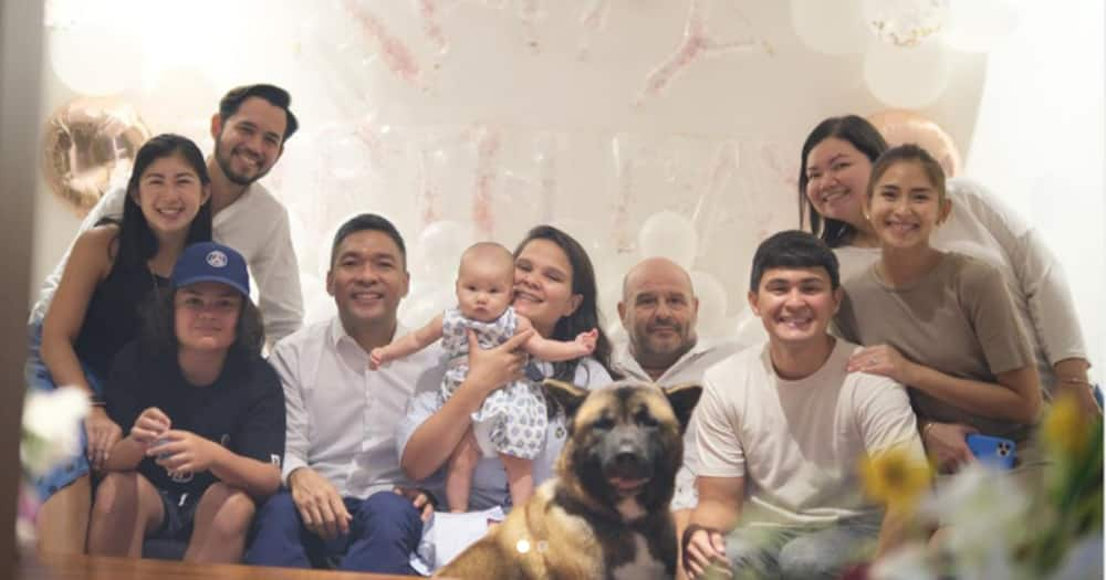 Matteo Guidicelli celebrated his sister's birthday with Sarah Geronimo and family