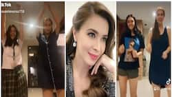 Sunshine Cruz gracefully dances with daughters on TikTok videos