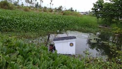 Ballot box with official ballots inside gets found floating in Maguindanao