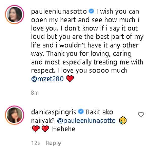 """Danica Sotto, naiyak sa post ni Pauleen Luna para sa amang si Vic Sotto: """"Bakit ako naiiyak?"""""""