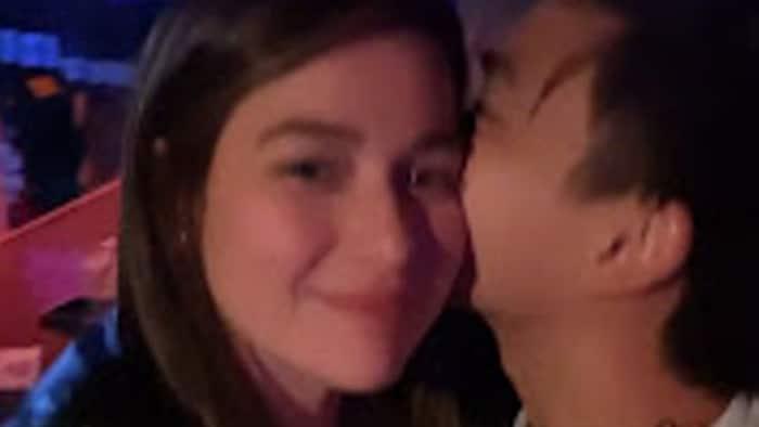Bea Alonzo, tumanggap ng matamis na halik mula kay Dominique Roque