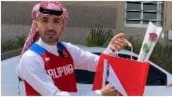 Saudi vlogger, namigay ng cellphone sa mga OFW noong Independence Day
