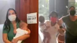 """Isabelle Daza recounts experience of fire alarm scare: """"We had to run down 26 flights of stairs"""""""