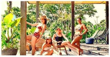 Malapit na! Iza Calzado, sinamahan ng mga kaibigan para sa bridal shower sa Bali