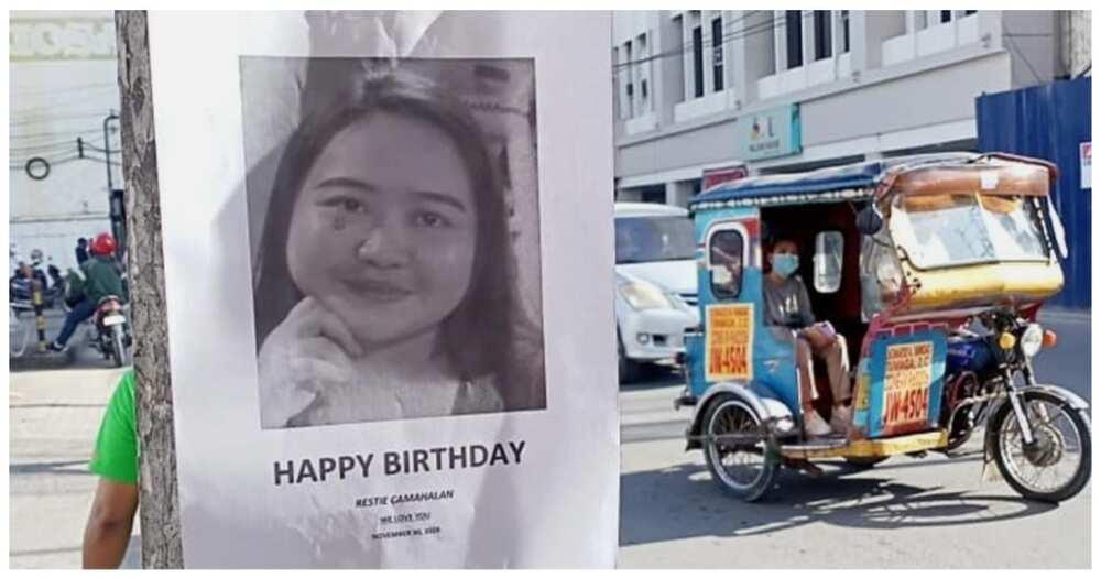 """Birthday girl, nagmistulang """"wanted o missing"""" person dahil sa pagbati ng tropa"""