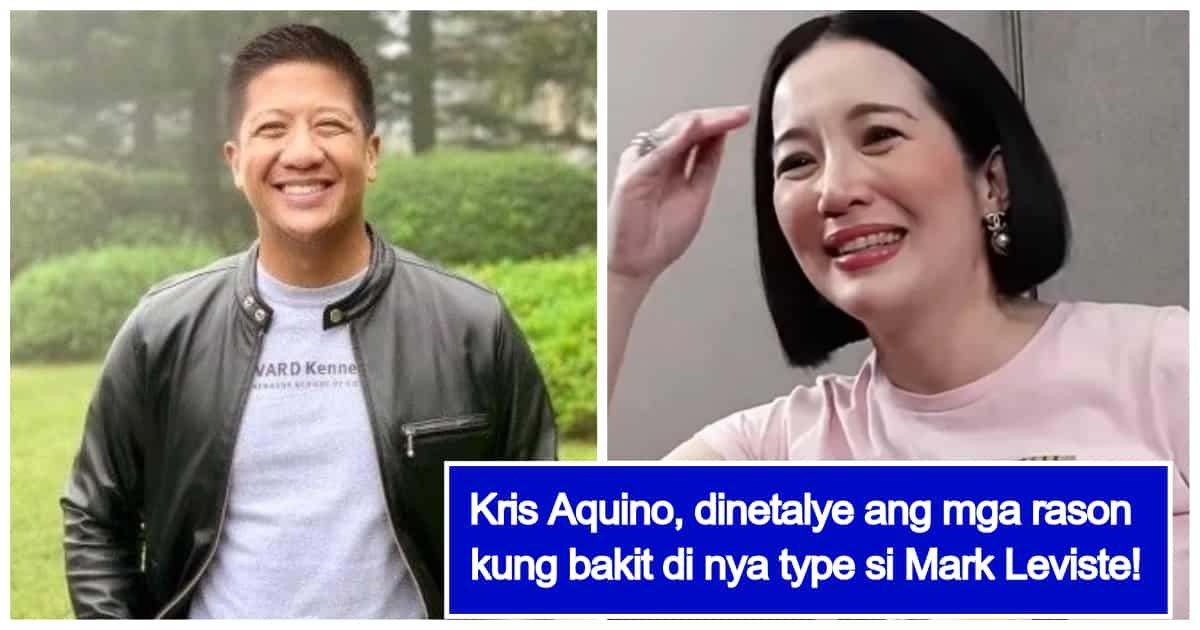 Kris Aquino, prinangka si Mark Leviste kung bakit hindi siya boyfriend material
