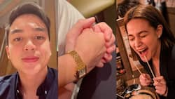 """Dominic Roque posts video about his """"date night"""" in Japan; netizens react"""