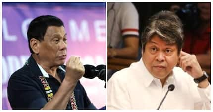 Ansabe? Pangulong Duterte, may mga bwelta kay Sen. Kiko Pangilinan