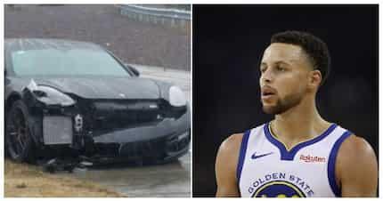 Warriors' Stephen Curry experiences multi-car crash