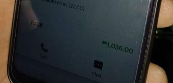 Delivery rider victimized by fake booking that cost him P1,036 of hard-earned money