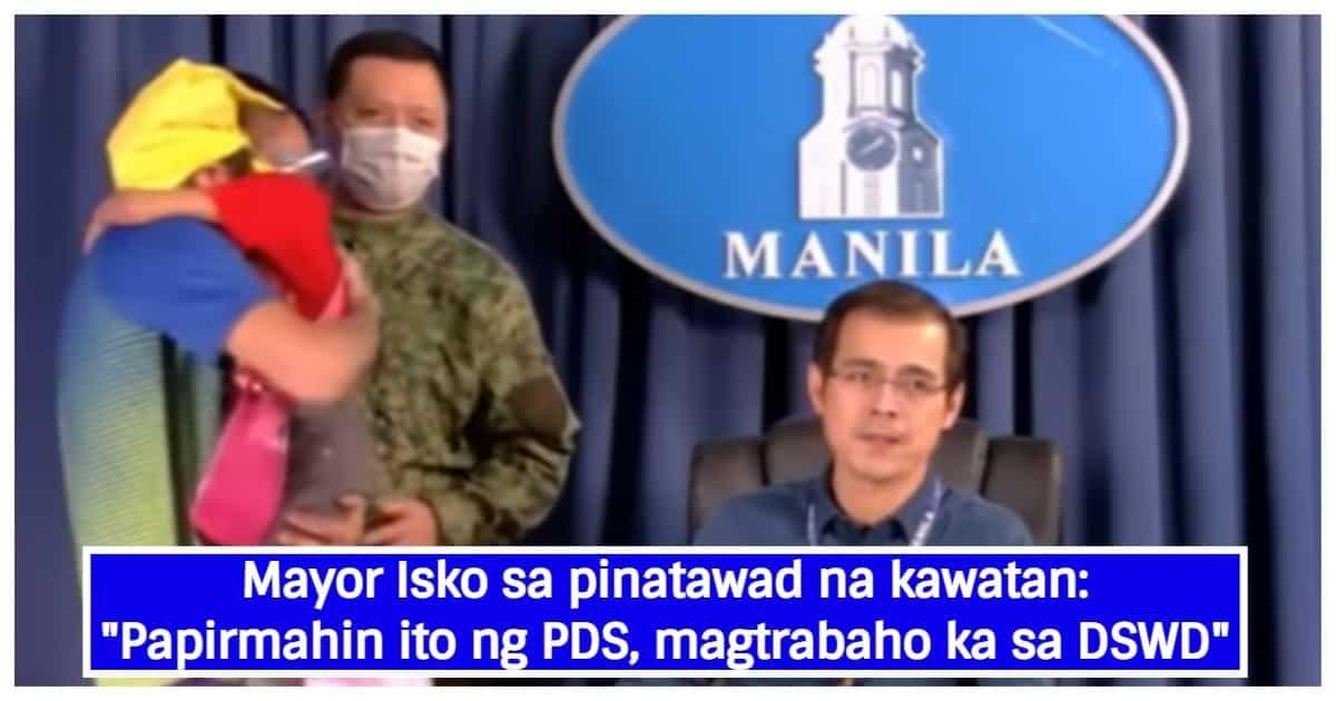 Mayor Isko Moreno, halos maluha sa kwento ng napalayang kawatan