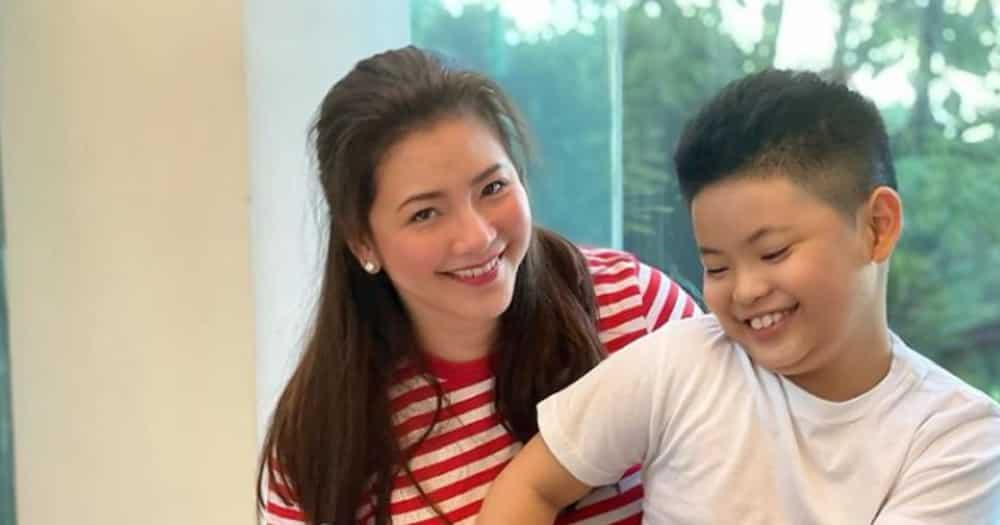 Regine Velasquez, emosyonal dahil sa kanyang anak na si Nate