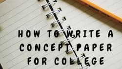 How to write a concept paper for college?