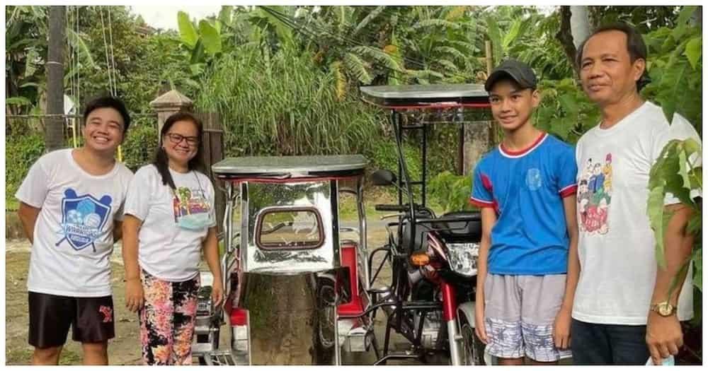 Alex Gonzaga, naging daan para magkaroon ng tricycle ang pamilya ng 12-anyos na valedictorian