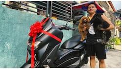 BF na nakatanggap ng mamahaling motorsiklo bilang birthday gift ng GF, viral