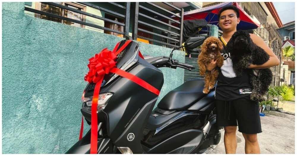 BF, nakatanggap ng mamahaling motorsiklo bilang birthday gift ni GF