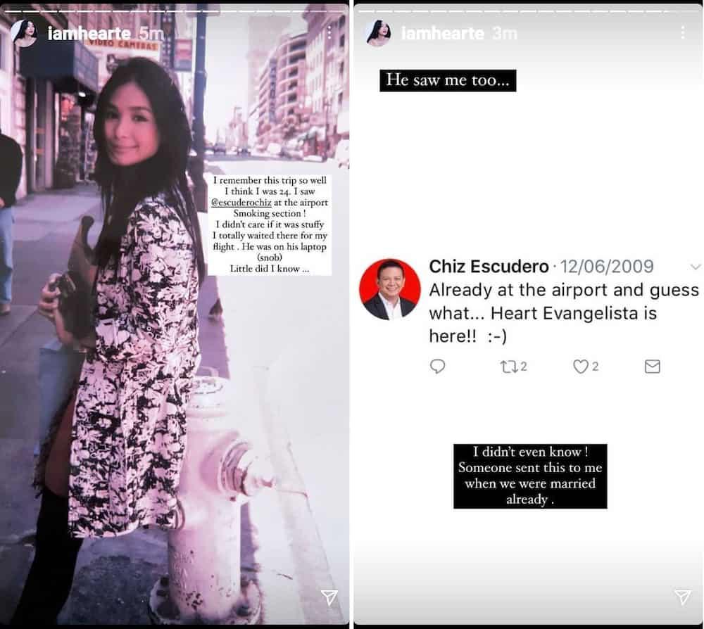 "Heart Evangelista, ini-""snob"" noon ni Chiz Escudero sa airport: ""I think I was 24"""