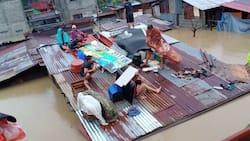 Residente sa QC, humingi ng saklolo sa gitna ng Typhoon Ulysses
