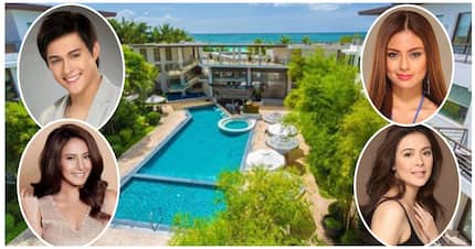Ang bobongga! 10 Famous celebrities who own a beach resort or a rest house