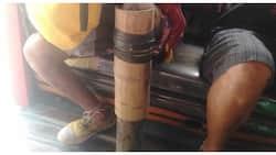 Netizen, nais matulungan ang PWD na kawayan ang ginawang binti't paa para makalakad