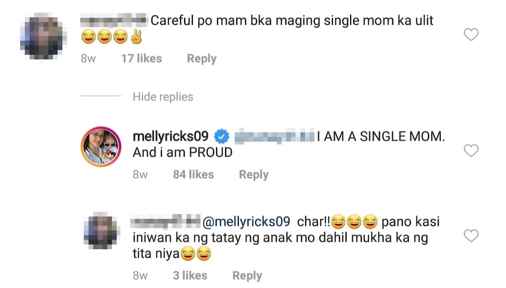 Melissa Ricks claps back at bashers commenting about her newfound love