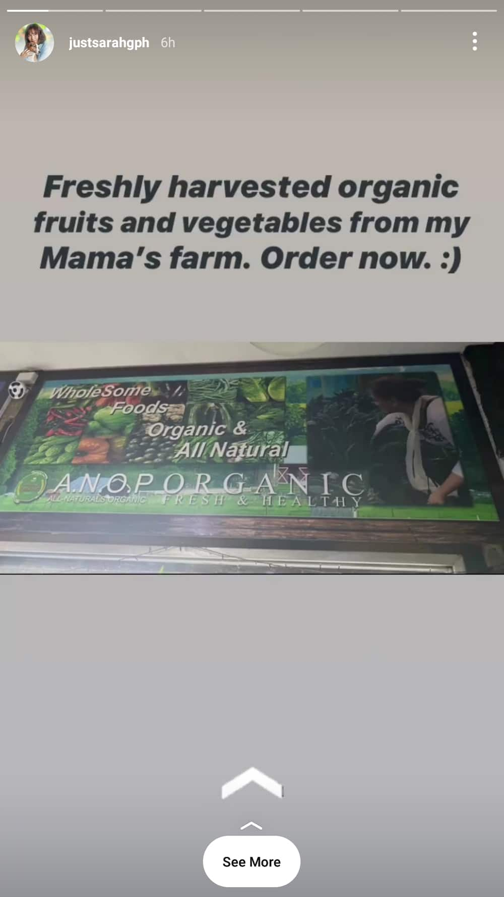 Sarah Geronimo advertised Mommy Divine's organic farm products after their supposed altercation last year