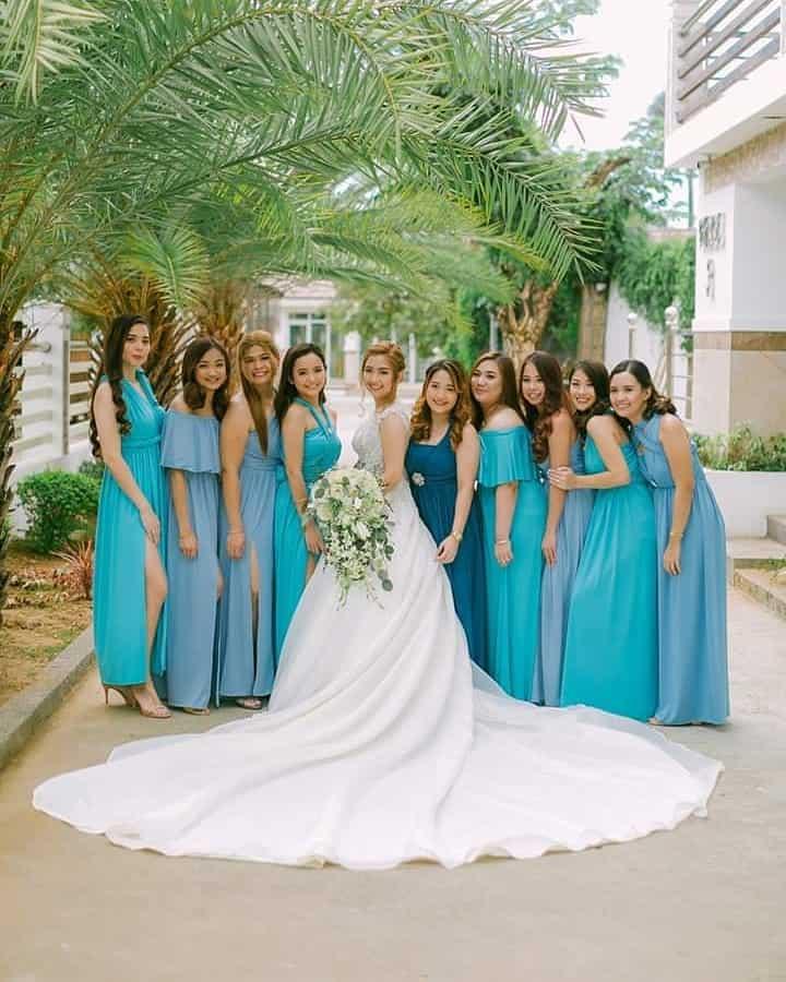 Bridesmaid garment