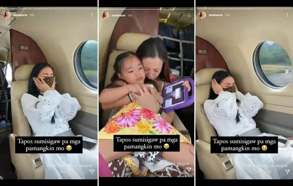 """Heart Evangelista's """"major anxiety"""" post about plane rides goes viral"""