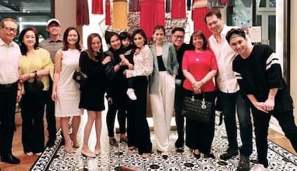 Alex Gonzaga receives gifts during her luxurious birthday dinner with loved ones