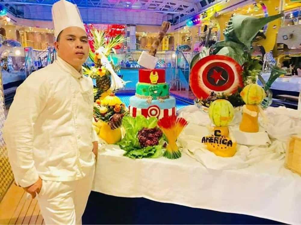 Chef sa cruise ship, fish vendor na at nagtitinda ng barbecue