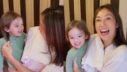 Video of baby Thylane trying to brush Solenn Heussaff's hair goes viral