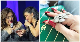 Regine Velasquez shares picture of the ring given by Sharon Cuneta