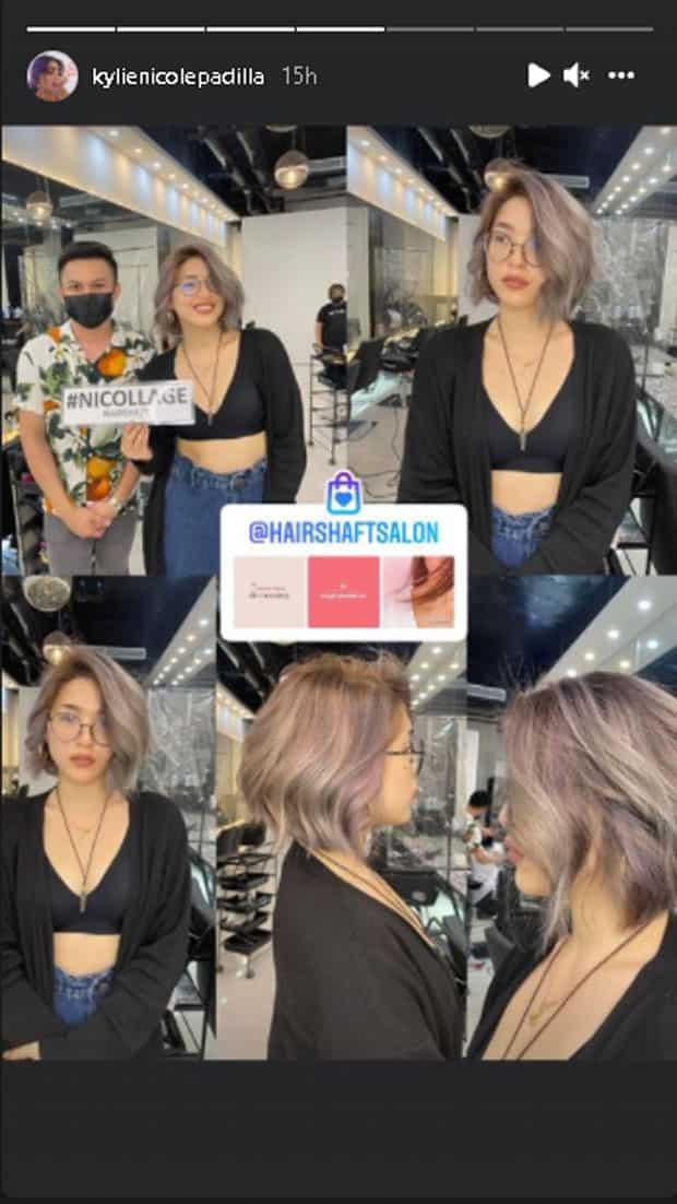 Kylie Padilla, may bonggang makeover kasabay ng move-on phase niya