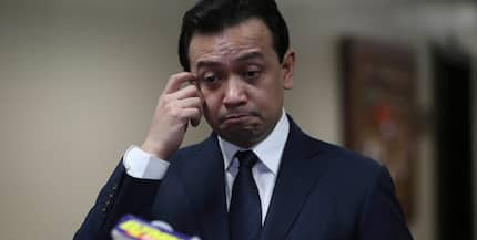 Trillanes speaks up after being slapped with grave threat case by labor exec