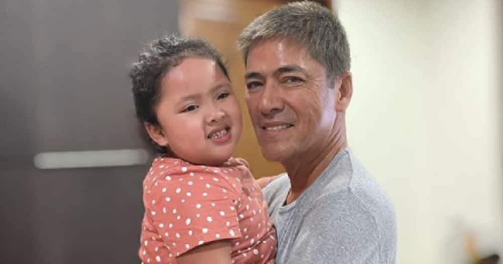 Vic Sotto's hilarious peek-a-boo game with Tali Sotto warms hearts online