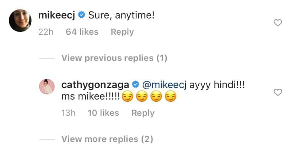 Mikee Cojuangco, sumagot sa pasaklolo ni Alex Gonzaga